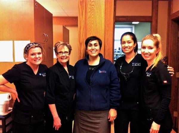 Dr Provo, NOVO Dental Team, Lala Abby foodbank Dental Clinic