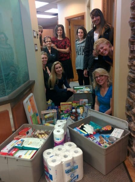 NOVO Dental Team Fraser Valley Christmas Food Hampers