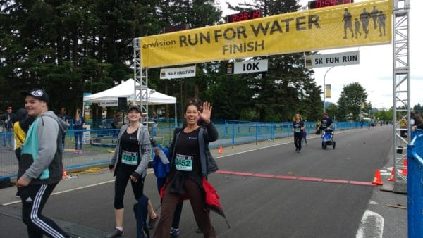 NOVO Dental Team Run for Water