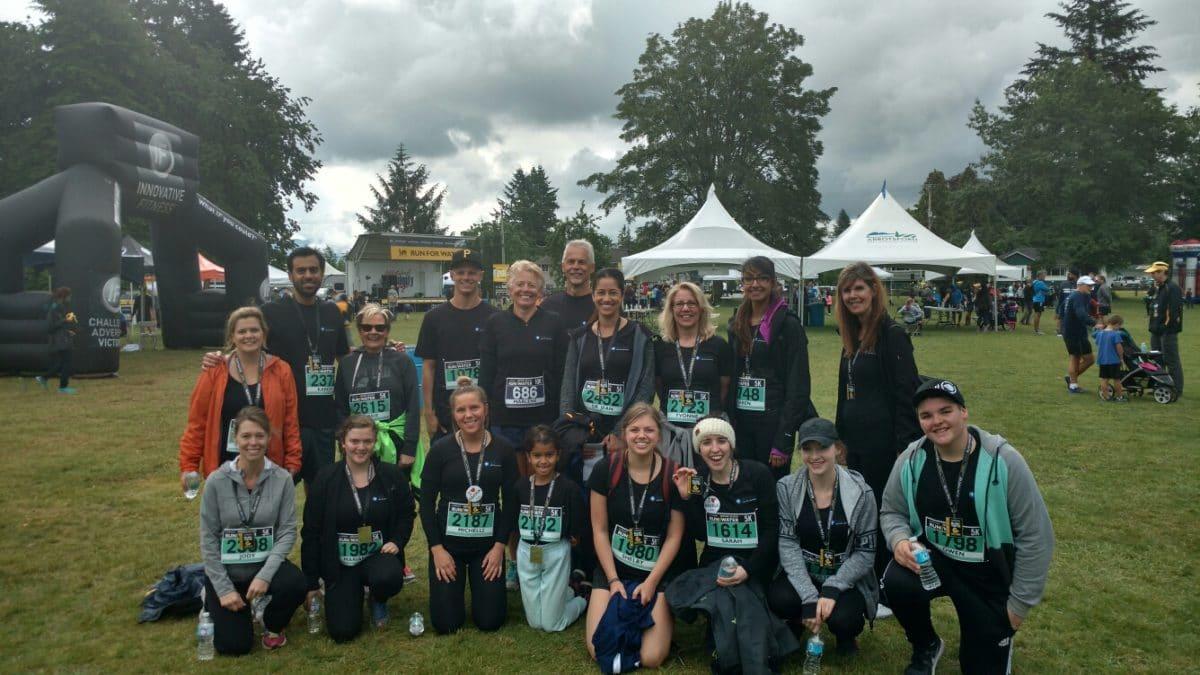 NOVO Dental Team - Run for Water Medal