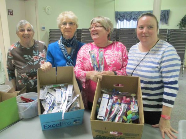 NOVO Donations for Christmas Shoe box Samaritan Purse