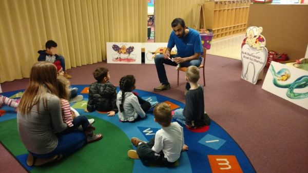 Dr. Nada visiting Abbotsford Preschool