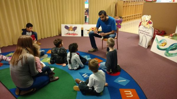 Dr. Nada tooth Brushing Central Heights Preschool