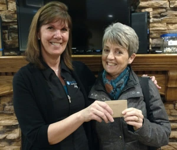 Abbotsford dentist March monthly prize winner
