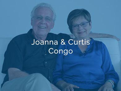 Joanna and Curtis Congo testimonial