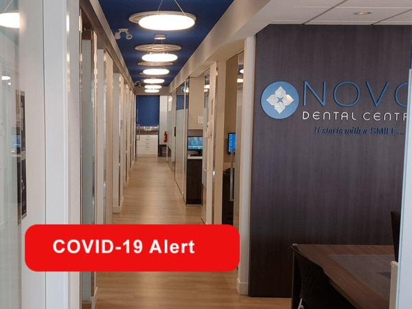 NOVO Dental Centre clinic - under COVID-19 protocols