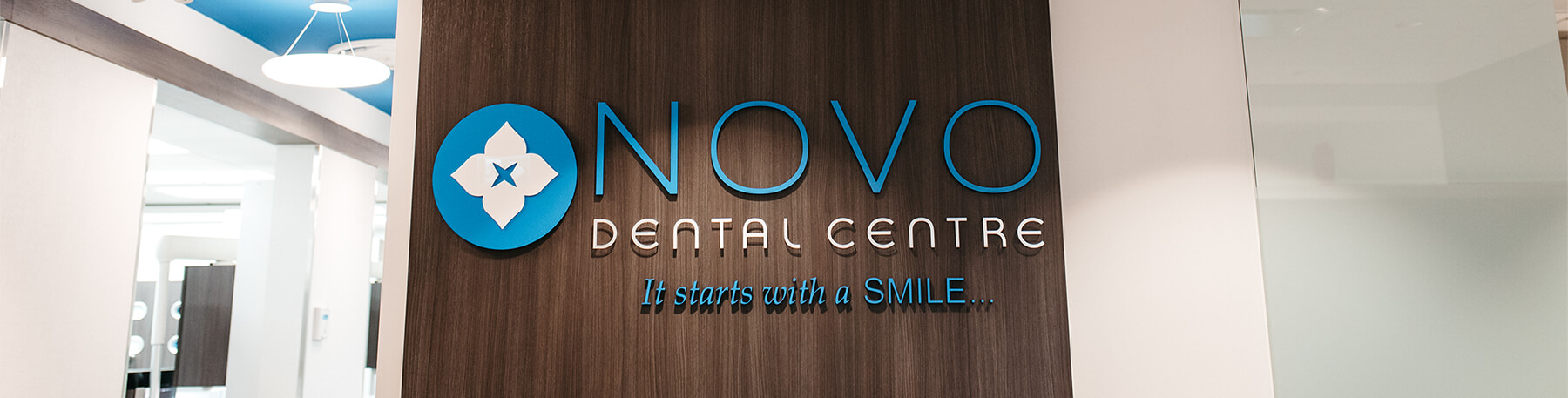 NOVO Dental Center - Sign in our new office