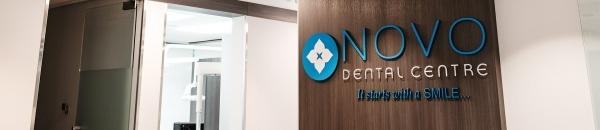 NOVO Dental Centre sign in clinic