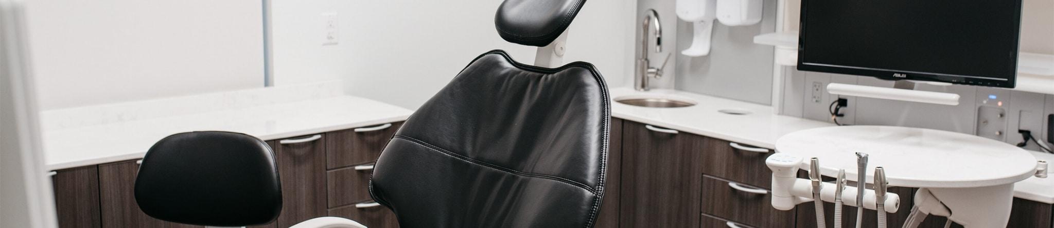 Dental operatory at NOVO Dental Centre