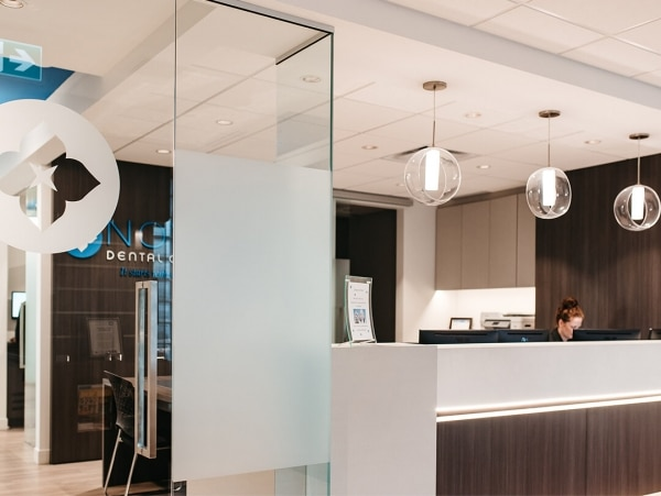 Novo Dental Centre reception area