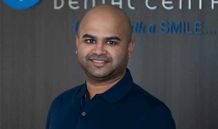 Dr. Abrar Ahmed at NOVO Dental Centre
