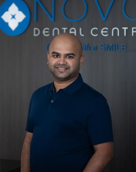 Dr Abrar Ahmed at NOVO Dental Centre