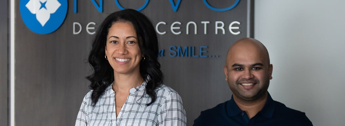 Dr Provo and Dr Ahmed - NOVO Dental Dentists