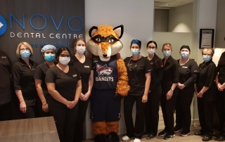 Berry the Bandit with NOVO Team
