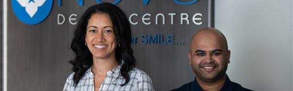 Dr Provo and Dr Ahmed - NOVO Dental Dentists